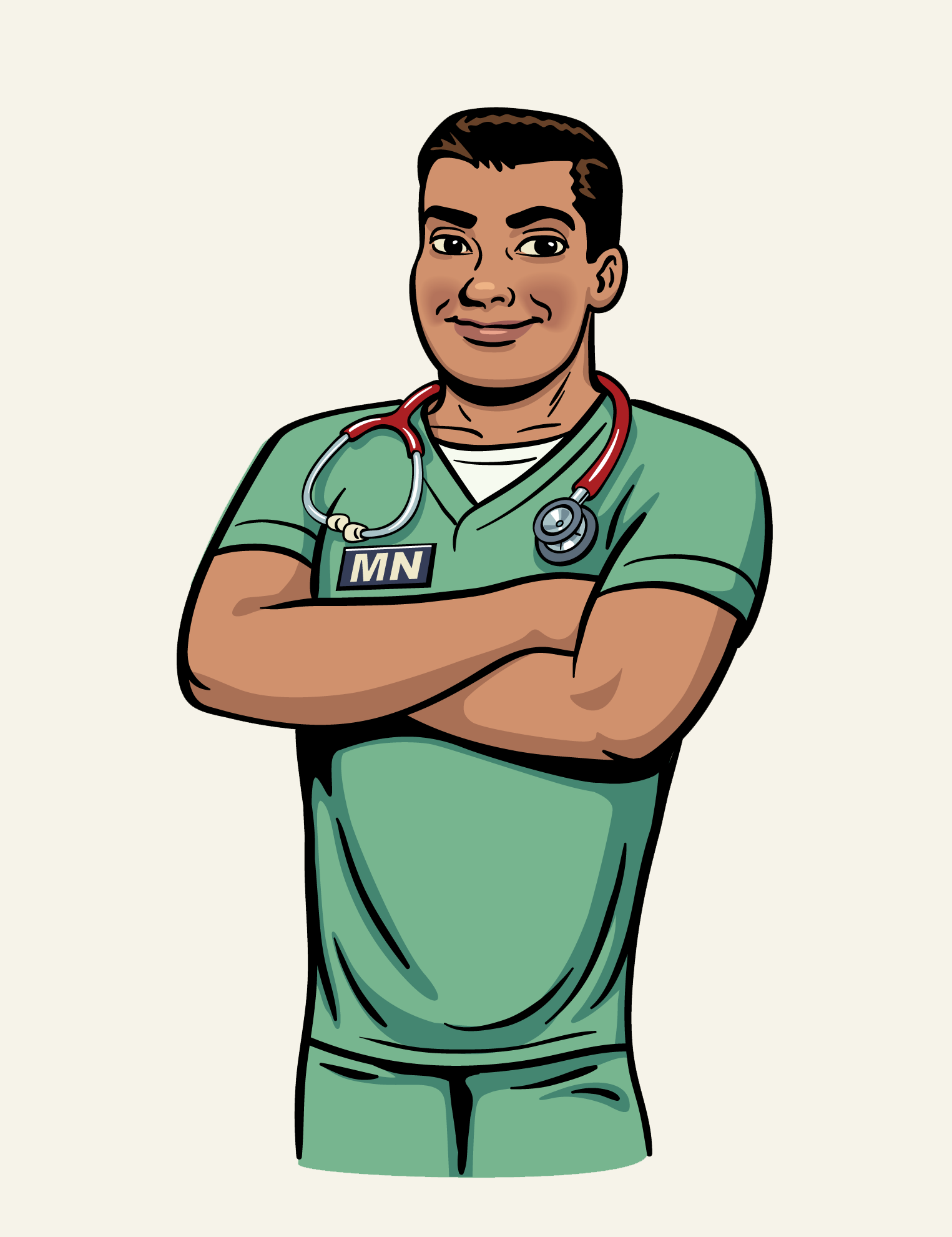 Male Nurse Cartoons - Cliparts.co