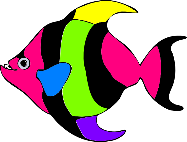 free clipart tropical fish - photo #12