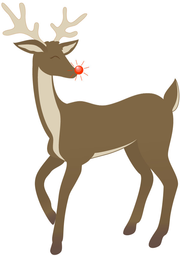 Free Reindeer Clip Art - Cliparts.co