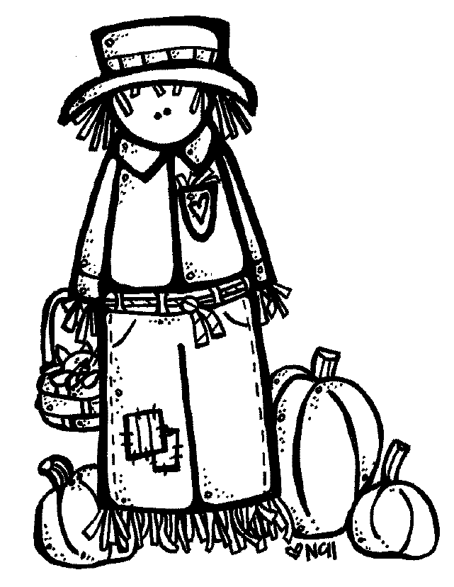 Cheerleader Clipart Black And White on scarecrow border clipart