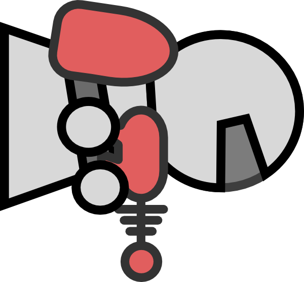 Rotated Robot Clip Art Vector Clip Art Online Royalty