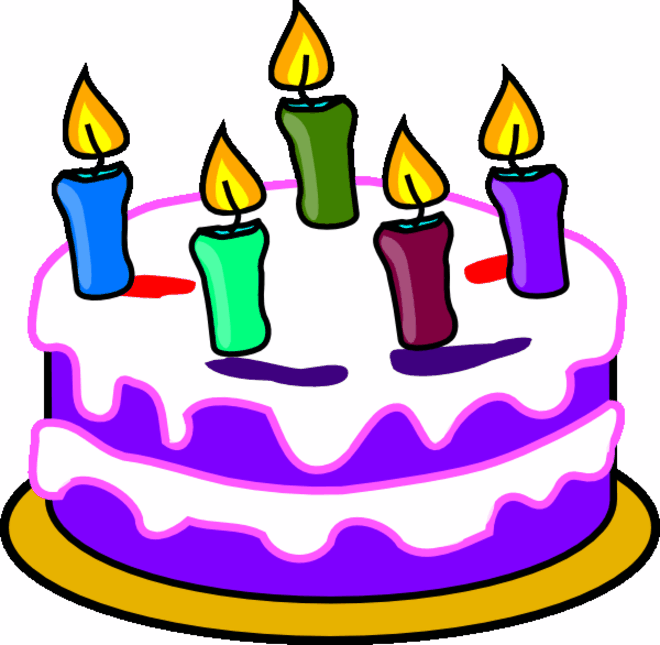 Happy Birthday Cake Clipart | Clipart Panda - Free Clipart Images