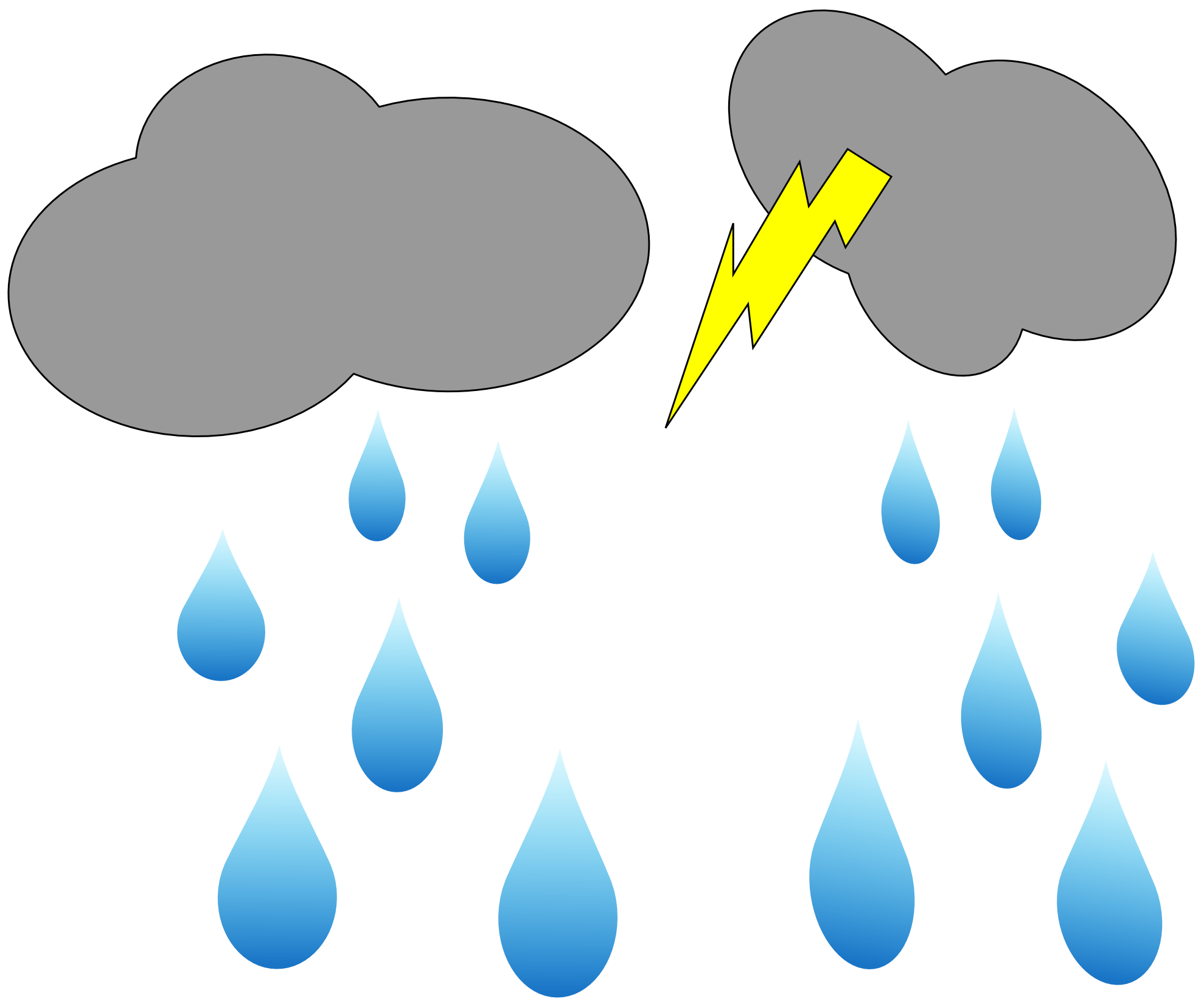 Rain Cloud Clip Art - Cliparts.co