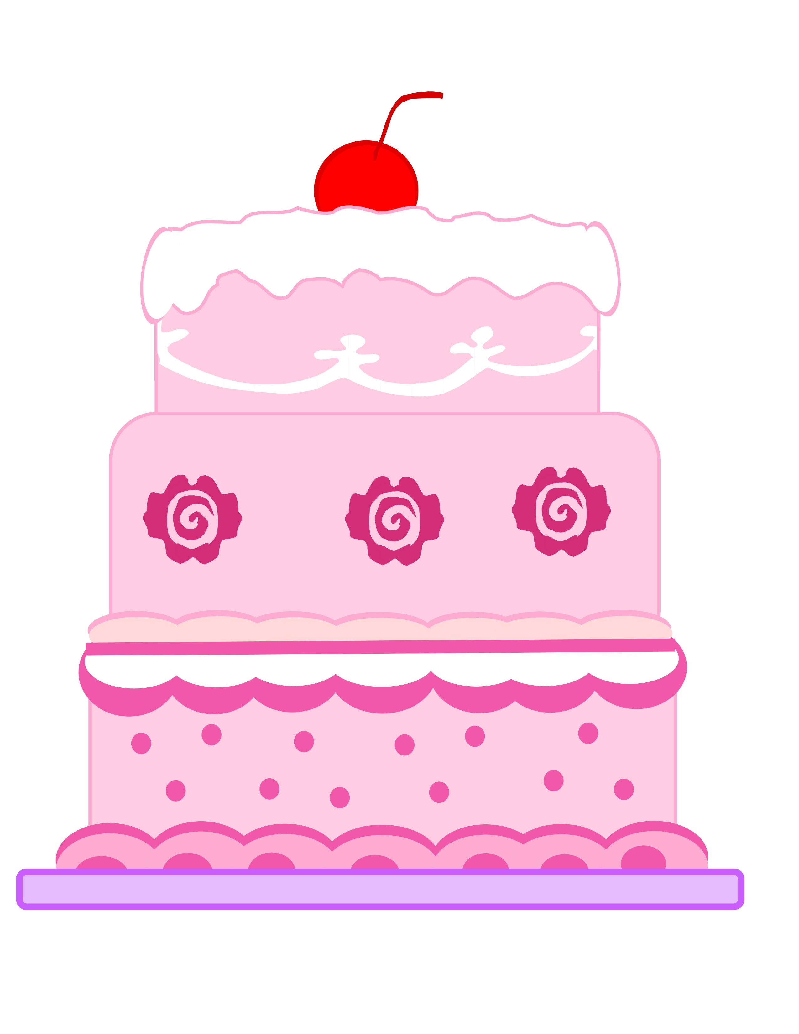 Animated Images Of Cake : Cartoon Cakes Images - Cliparts.co