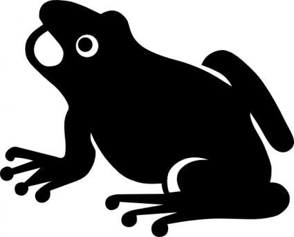 Frog Silhouette clip art - Download free Other vectors