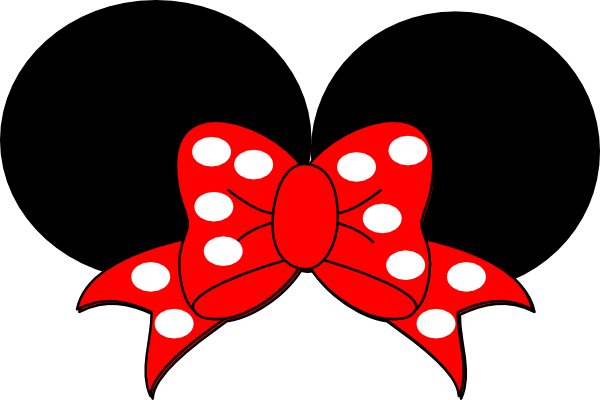 Minnie Mouse Ears Template - ClipArt Best