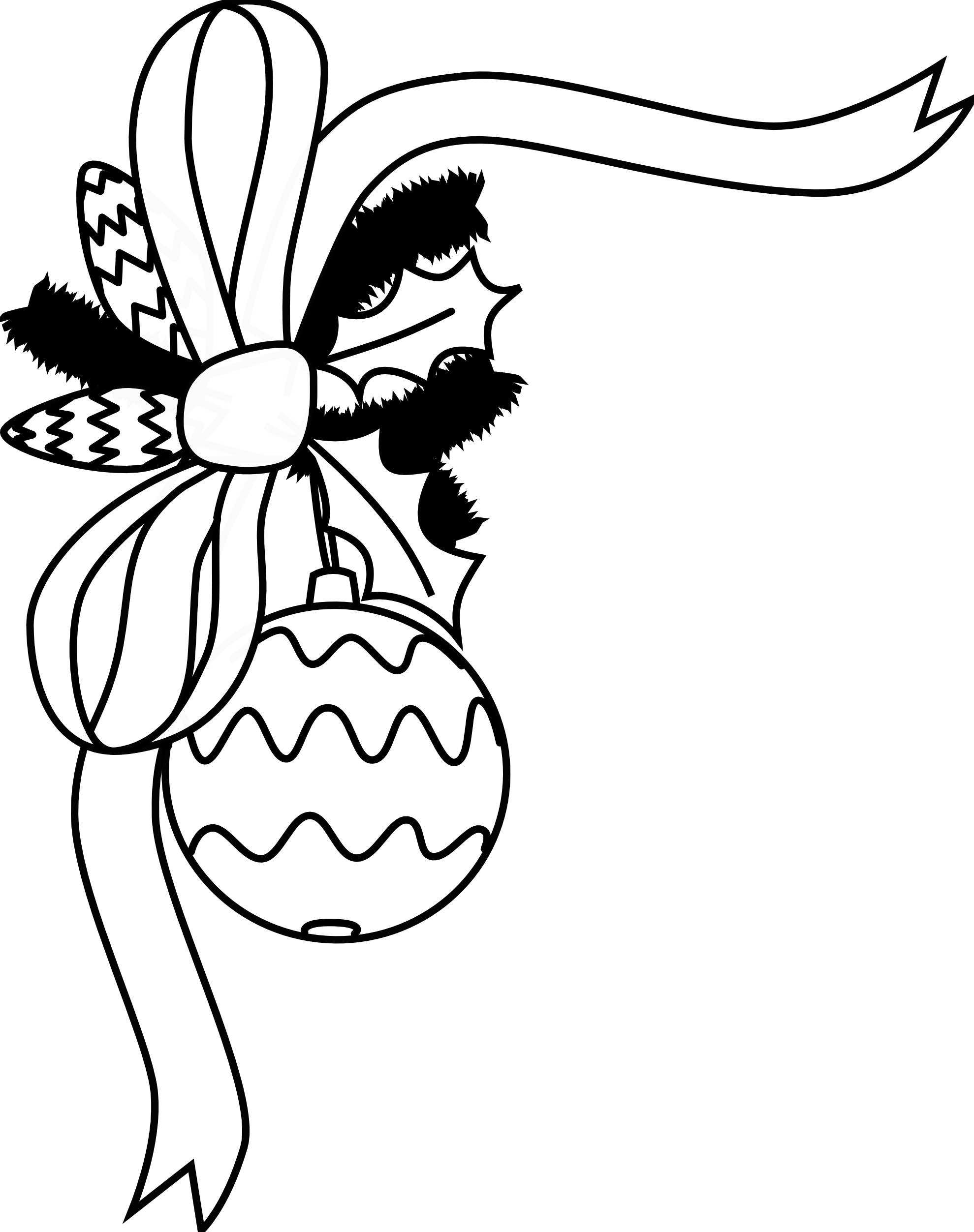 Black And White Holiday Clip Art - Cliparts.co