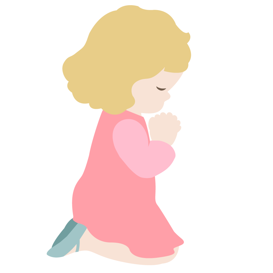 children praying clipart - photo #6