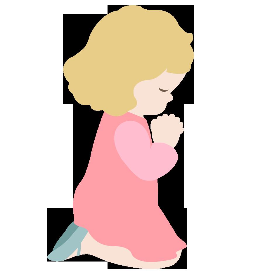 children praying clipart - photo #6