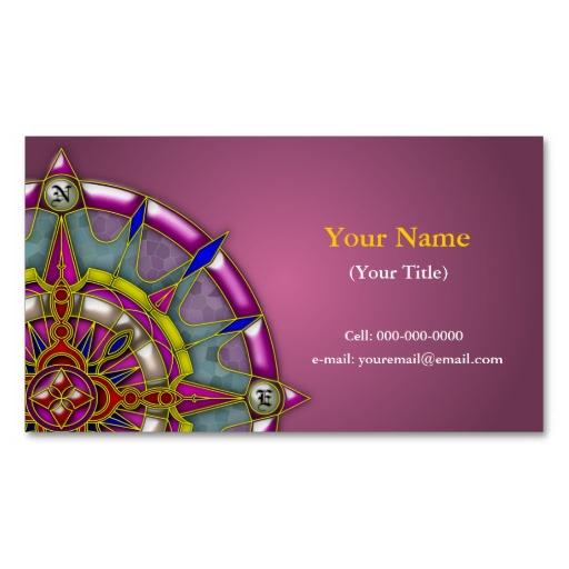 Compass Rose Business Cards, 58 Compass Rose Business Card Templates