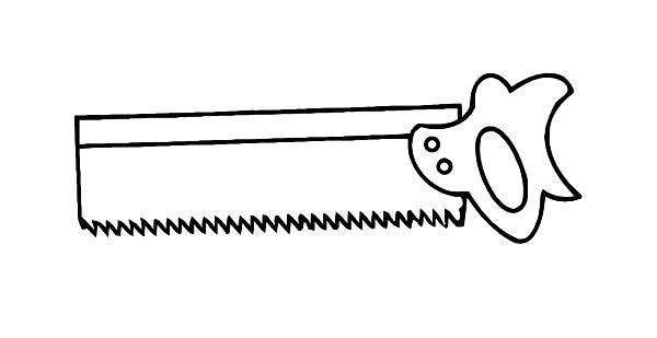 Saw clip art - vector clip art online, royalty free & public domain