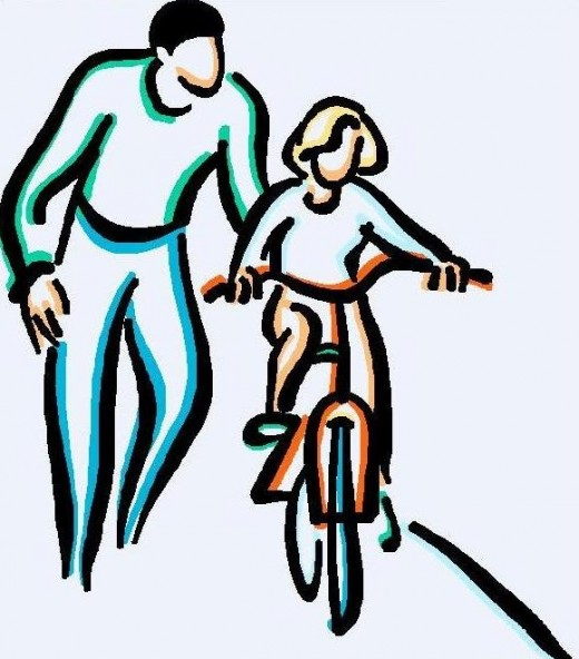 Father And Daughter Clipart - Cliparts.co