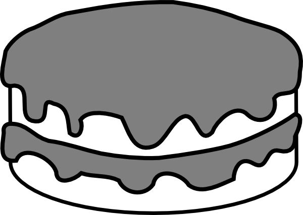 Chocolate Cake Clipart - Cliparts.co