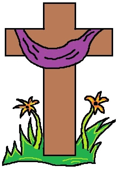 Holy Week Clip Art Cross - ClipArt Best