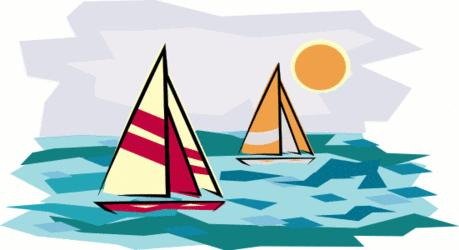 Pix For > Sailing Clip Art