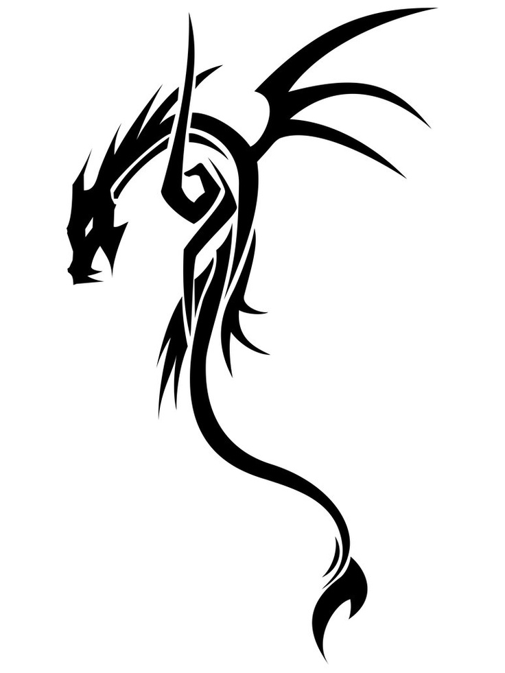 Simple Dragon Pictures Cliparts Co