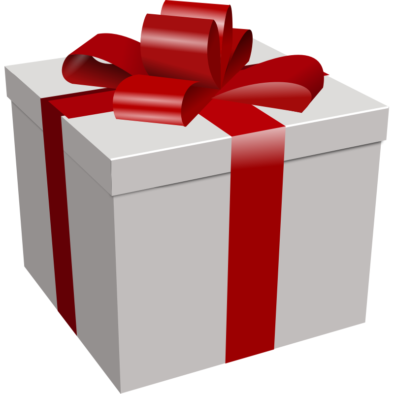 Clipart - Gift box