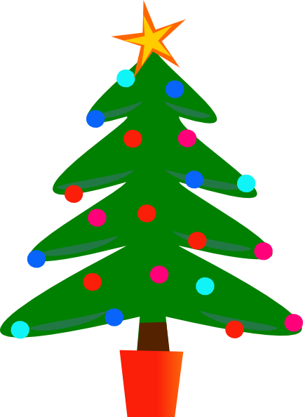Christmas Trees Clipart - Cliparts.co