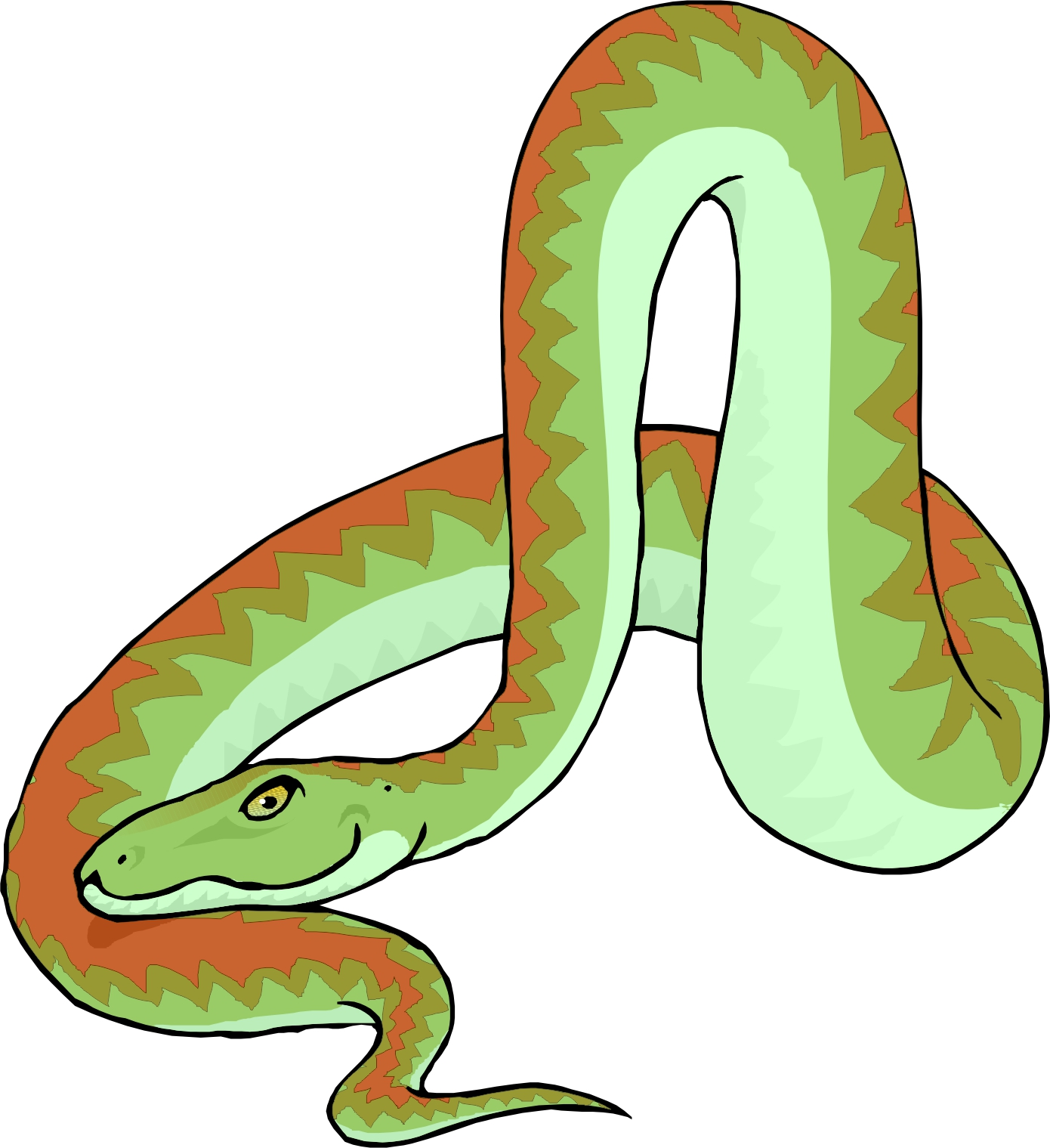 Pictures Of Cartoon Snakes - ClipArt Best