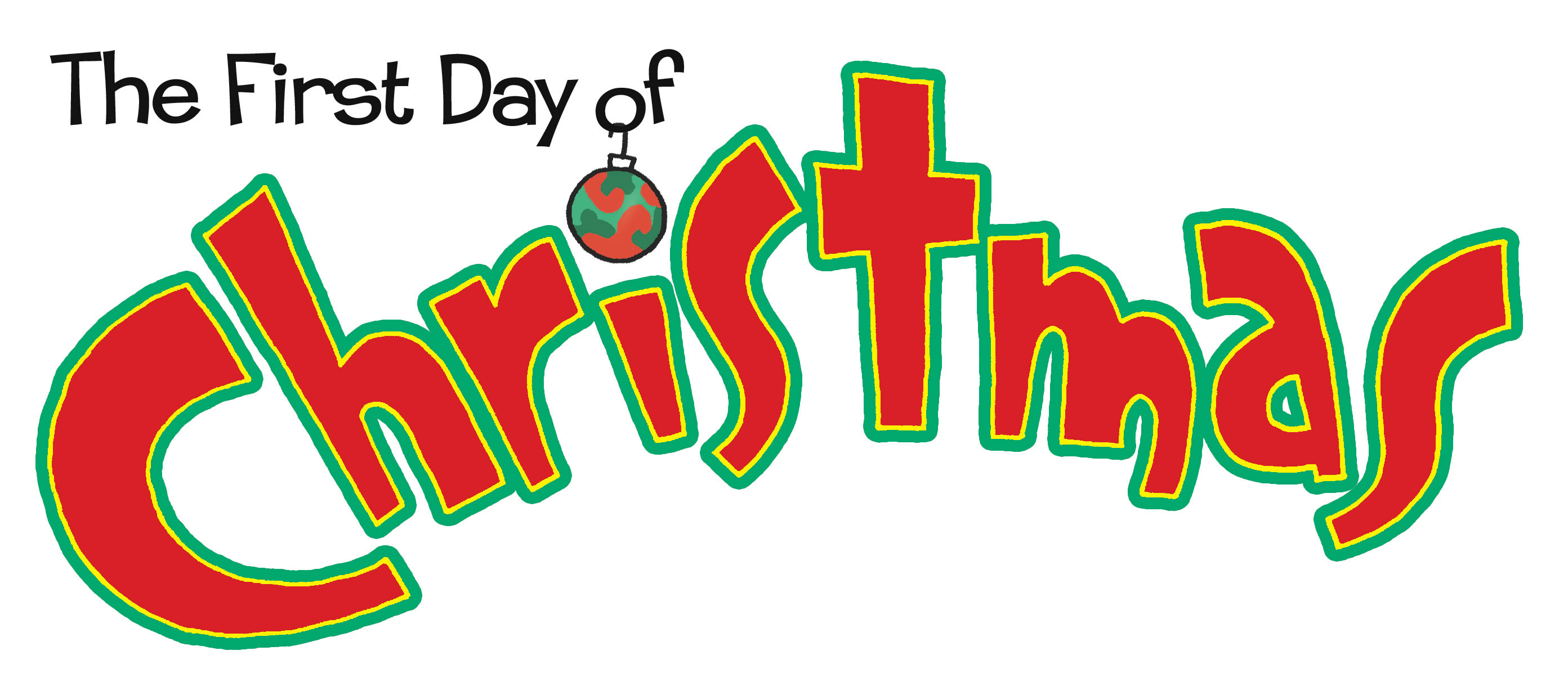 1st Day Of Christmas Clipart