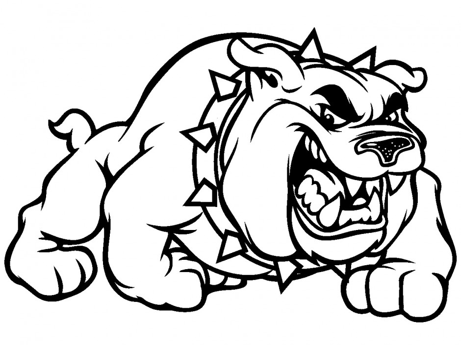 football mascot coloring pages - photo#13