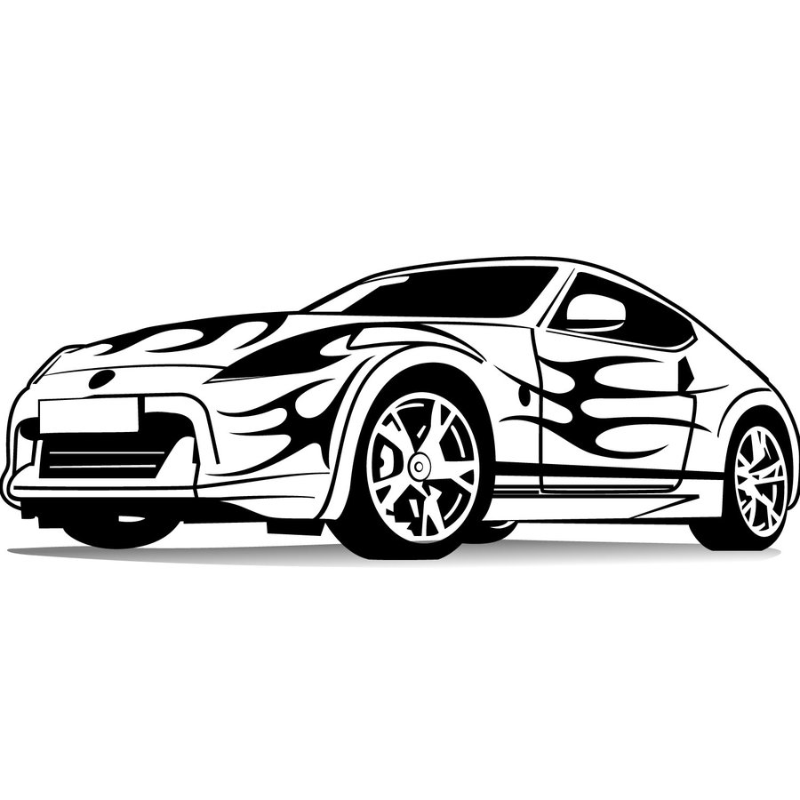 Benz Drift Car >> Car Vector Art - Cliparts.co