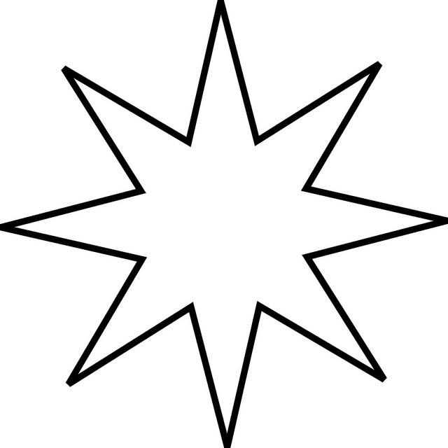 Line Art Star : Pix for gt stars line art cliparts