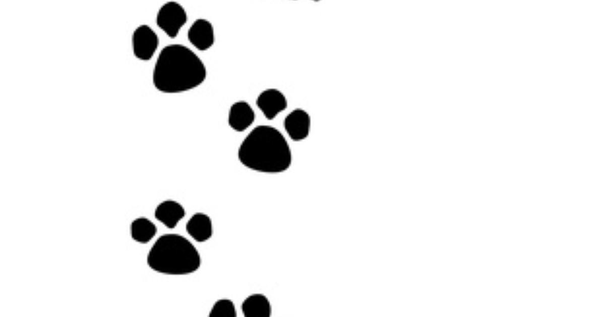 Paw Print Emoticon - Cliparts co