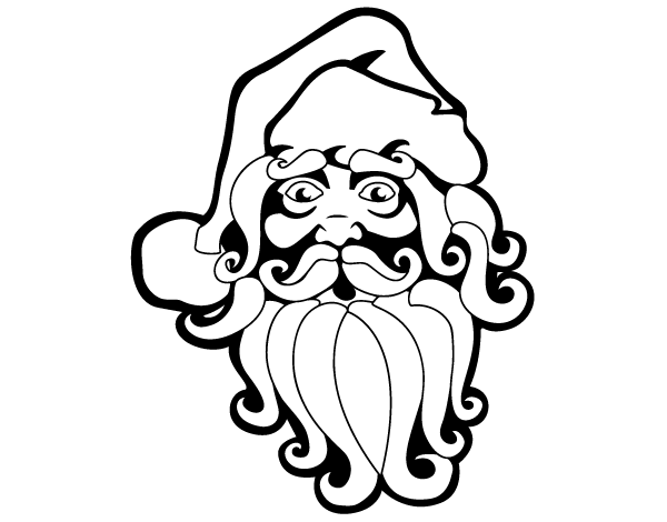 Free Santa Claus Vector Clip Art Image | Free Christmas Vector Art ...