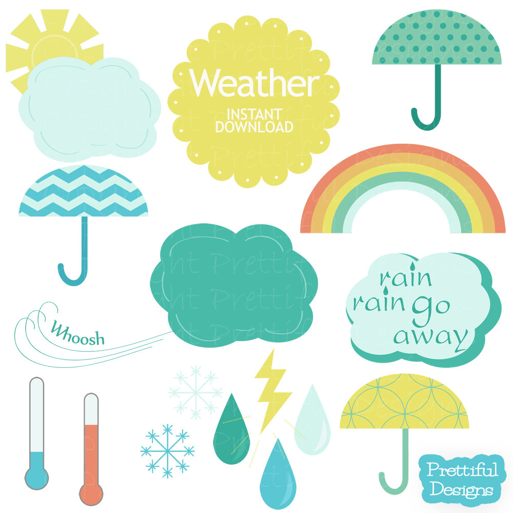 Images For Weather Clip Art Weather Clipart For Kids