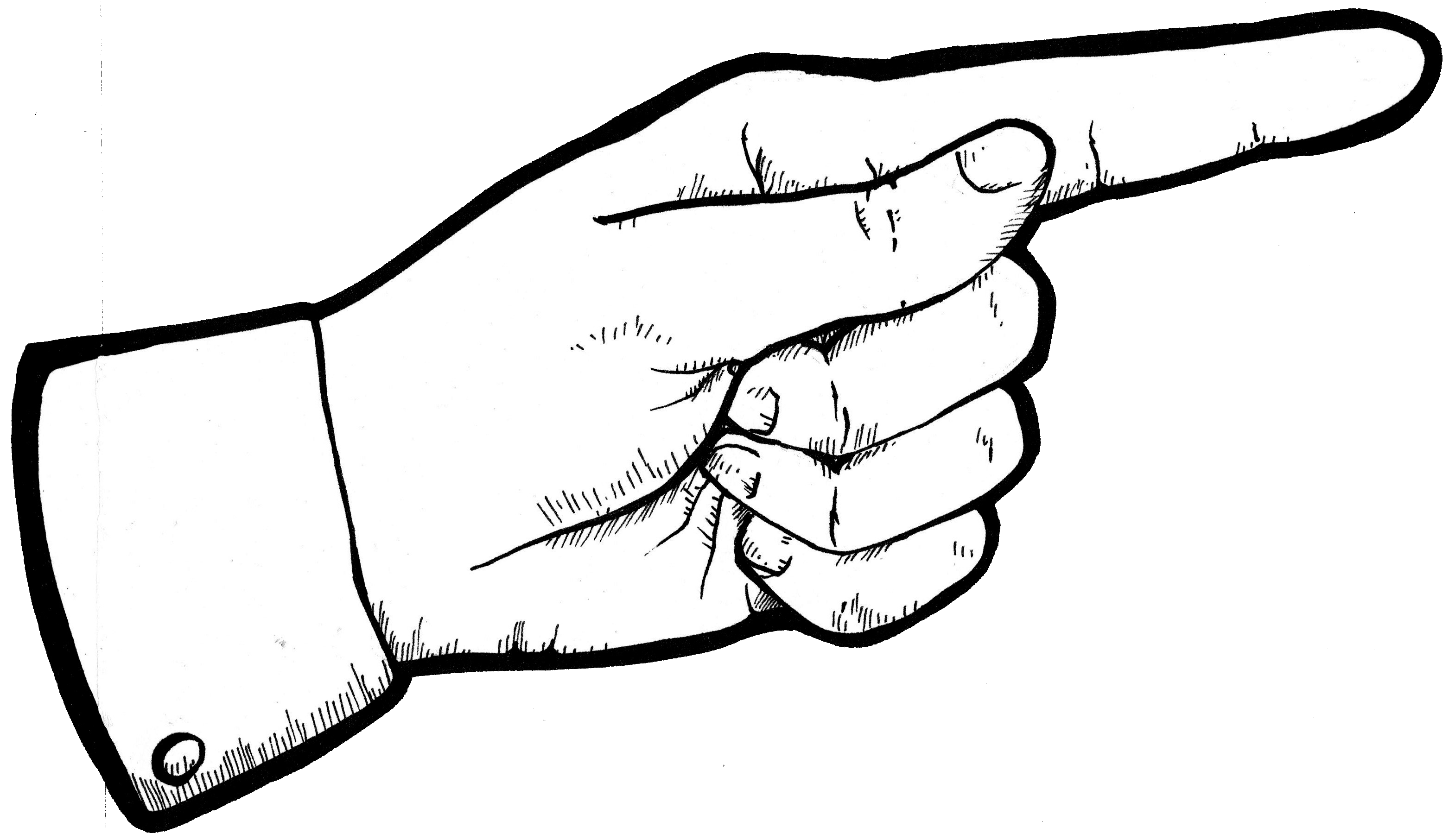Pointing Finger... Free Clip Art Of Hands