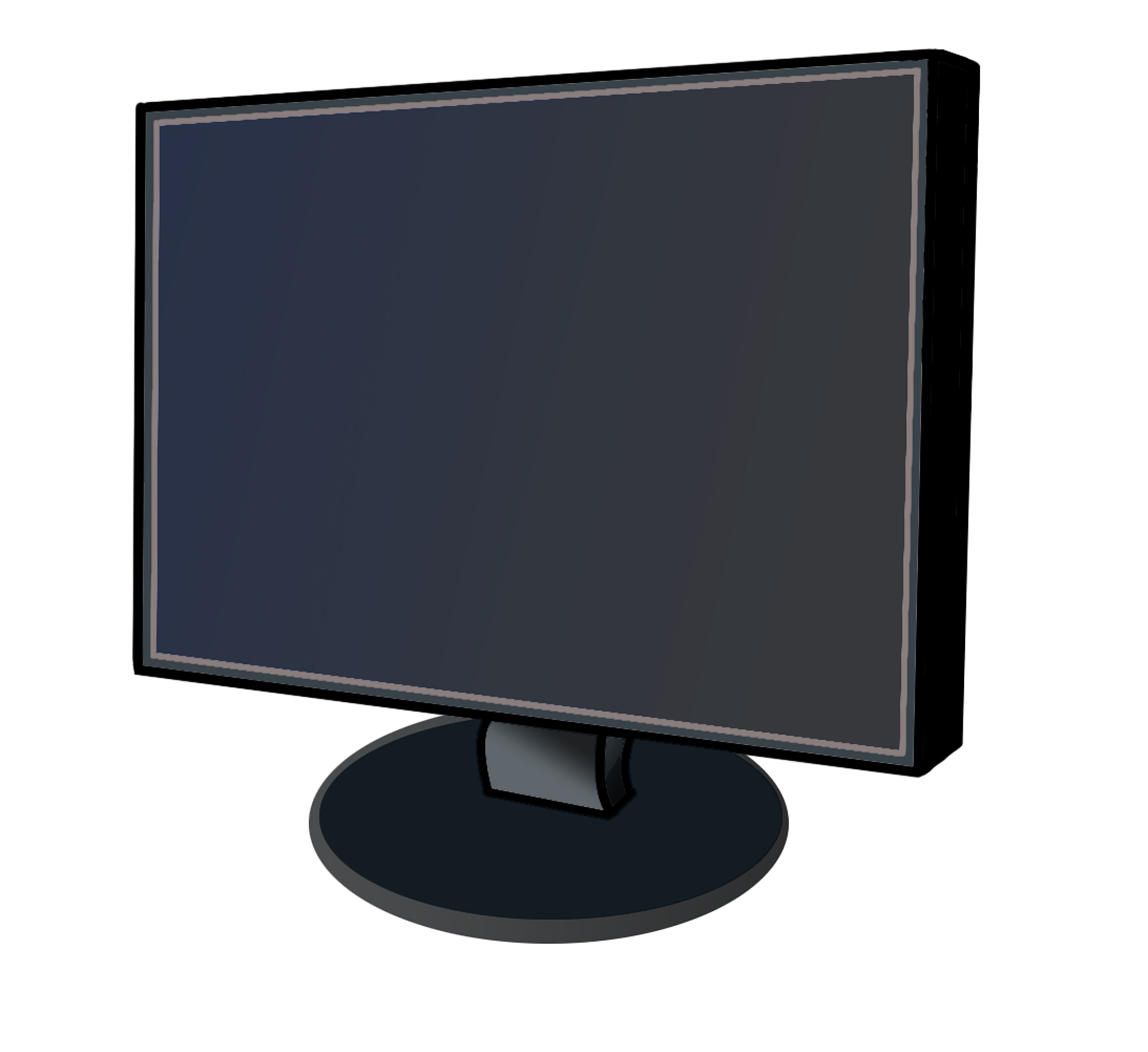 Computer Monitor Screen Clip Art Images & Pictures - Becuo