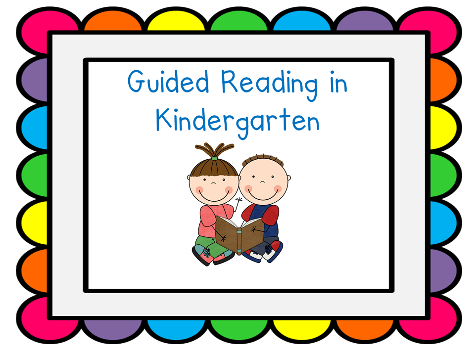 Kindergarten Reading Clipart