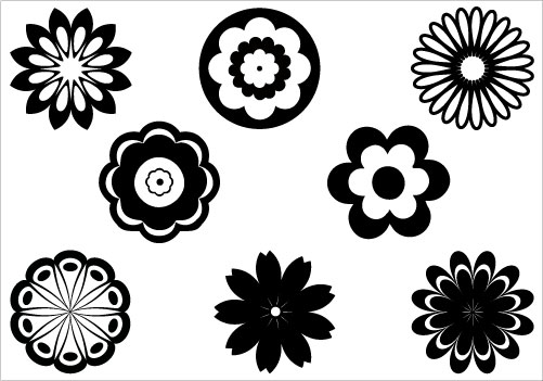 Flower Silhouette Images - Cliparts.co