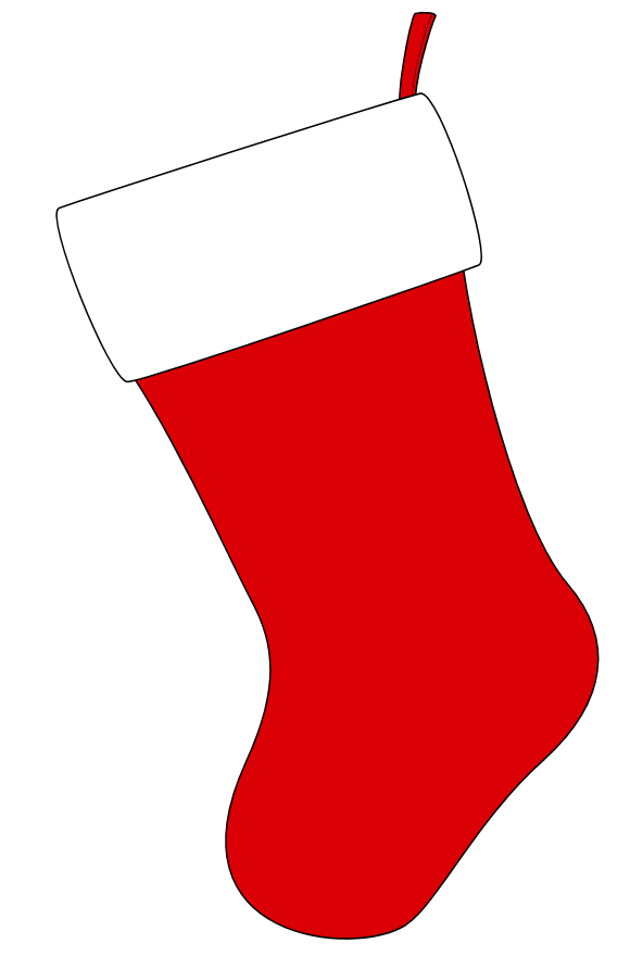 christmas stockings free clipart