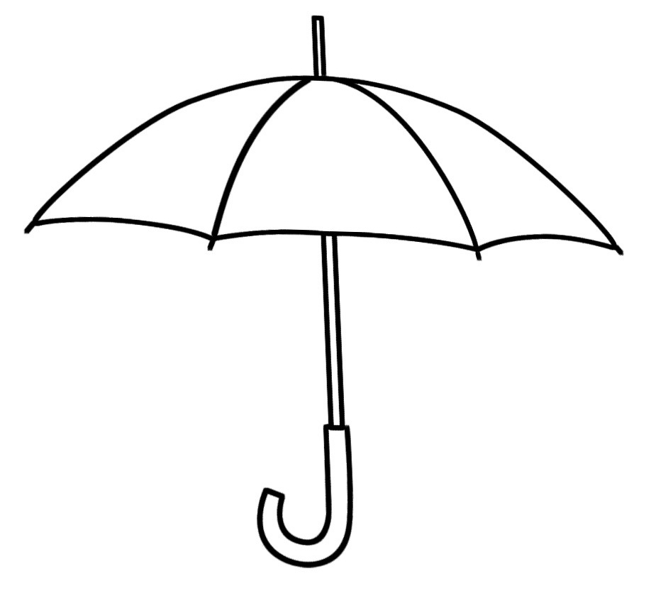 Simplicity image with regard to printable umbrellas