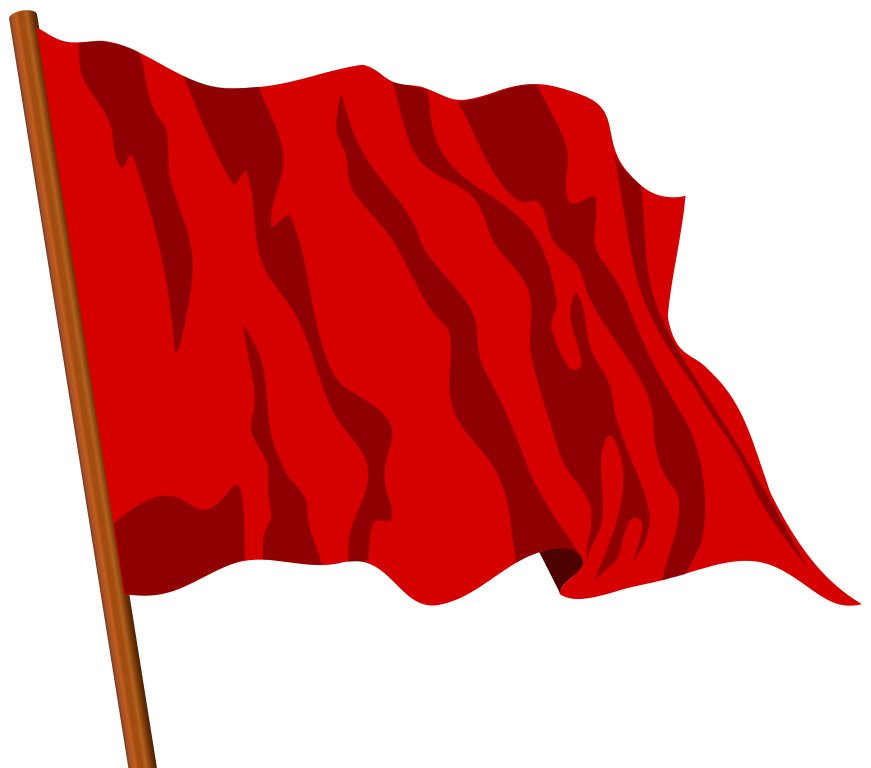 File:Red flag II.svg - Wikimedia Commons