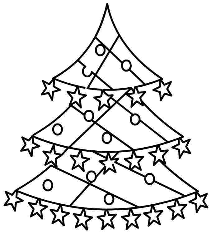 Line Drawing Christmas Tree : Best line christmas tree