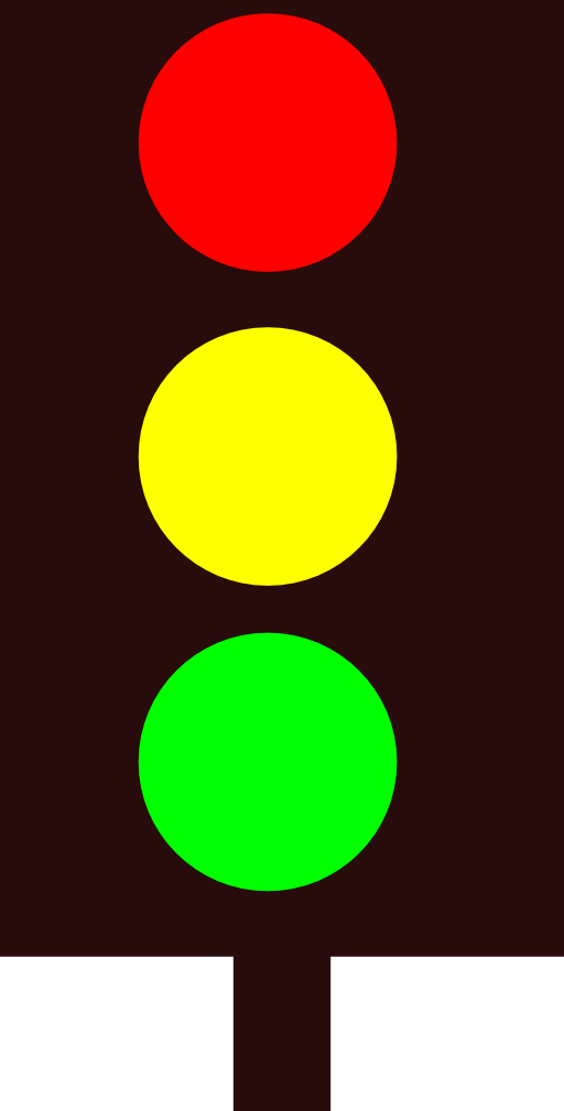Red Traffic Light - Cliparts.co