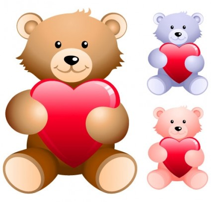 Love teddy bear vector Free vector for free download (about 11 files).