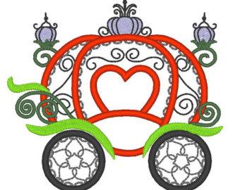 Cinderella Carriage Pumpkin Stencil Clipartsco