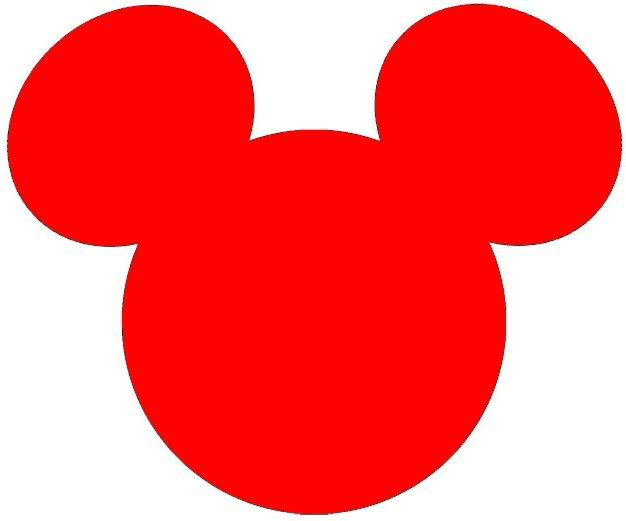 clipart mickey mouse ears - photo #22
