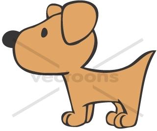 Cartoon Cute Dog - Cliparts.co