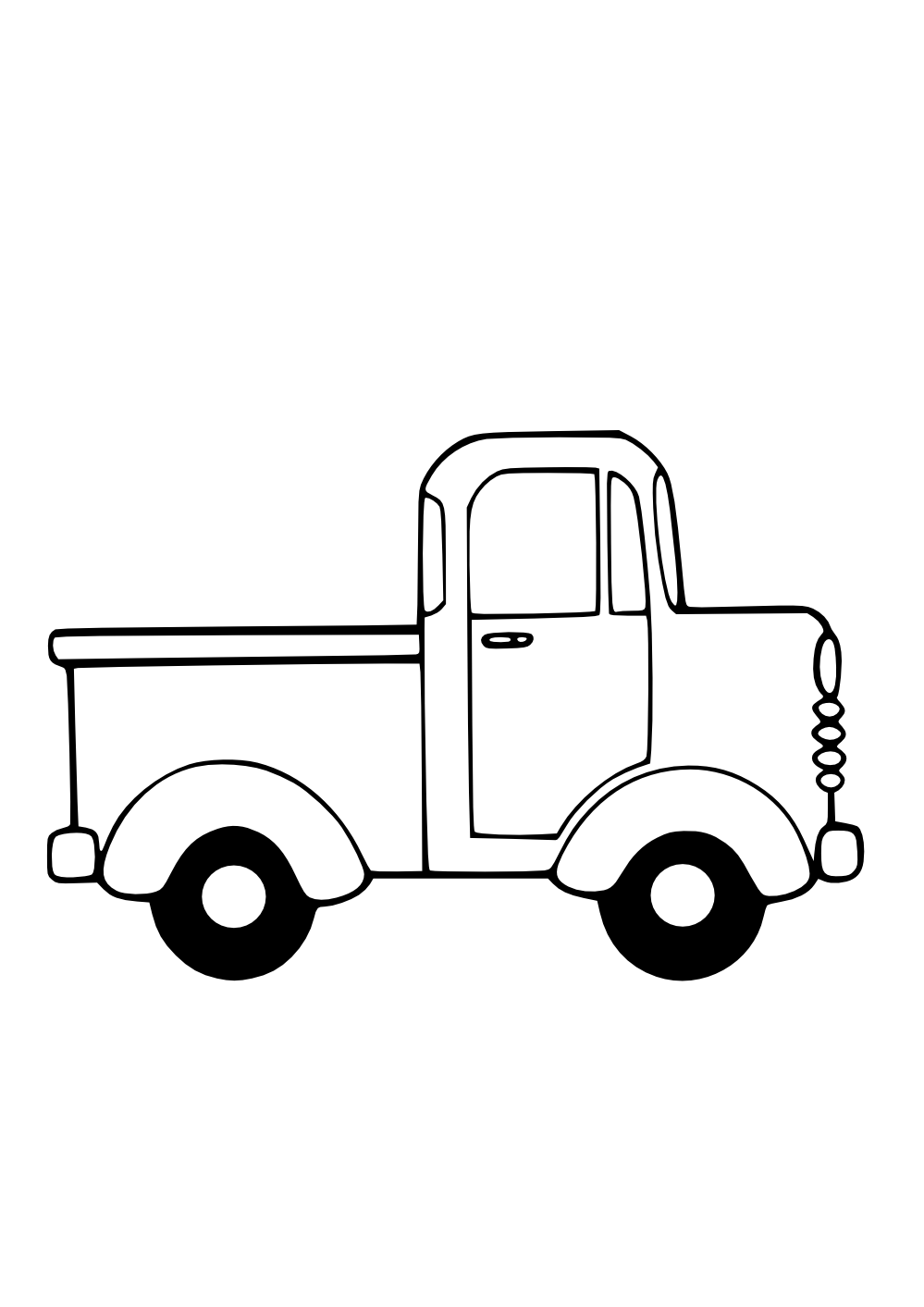 Delivery Truck Clipart Black And White | Clipart Panda - Free ...