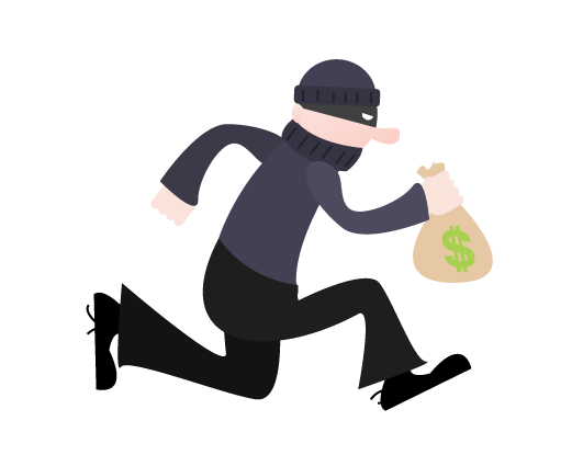 Picture Of A Robber - Cliparts.co