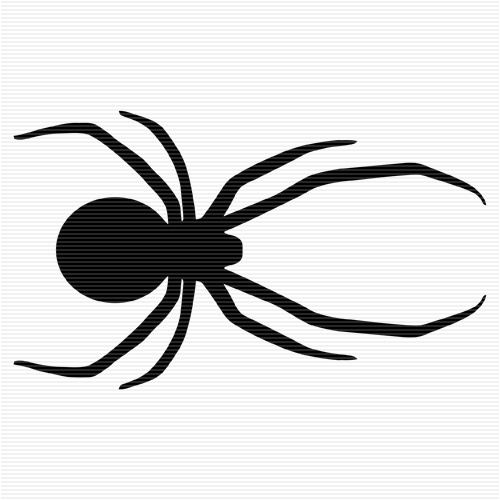 black widow spider silhouette - photo #36