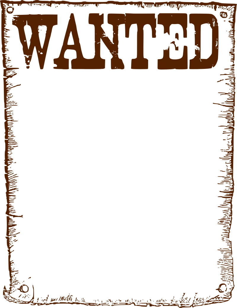 Wanted Poster Clip Art Cliparts Co