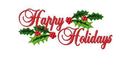 Happy Holidays Clip Art Free - Cliparts.co