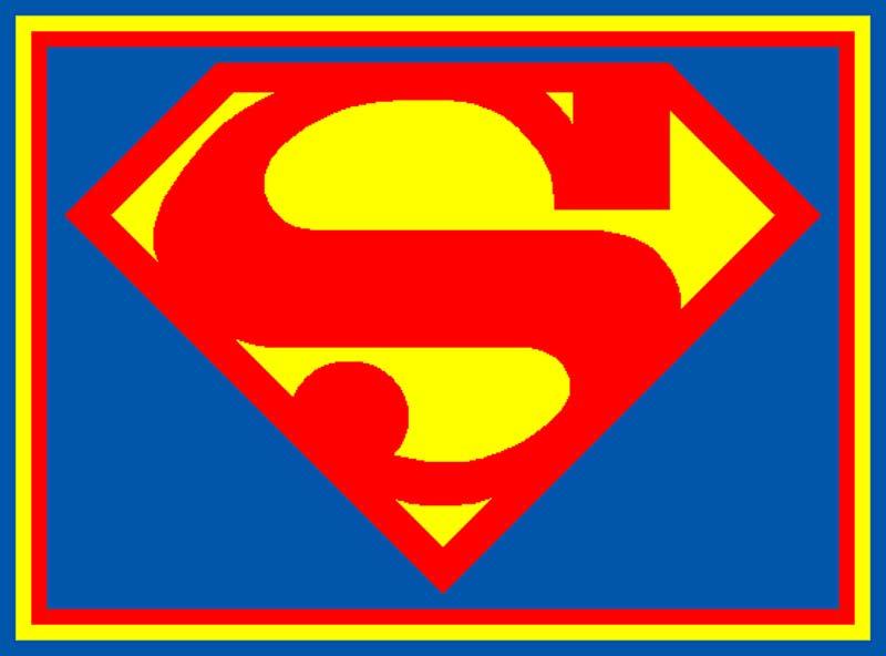 Superman Symbol Font Cliparts