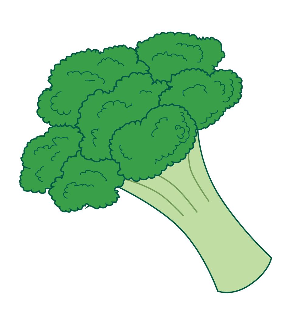 clip art cartoon vegetables - photo #17